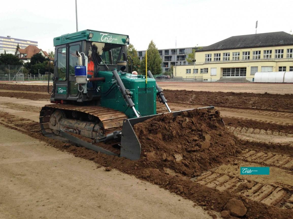 Start Sportplatz inOlten